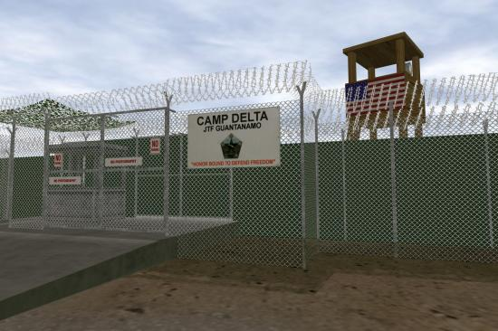 Zone*Interdite, Entrance Camp Delta, Guantanamo Bay